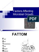 Factors Affecting Microbial Growth