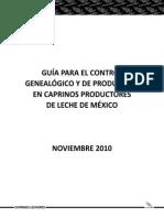 Guia Fenotipica Caprinos Lechera en Mexico
