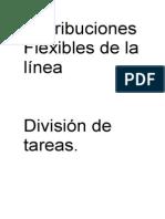Distribuciones Flexibles de La Línea