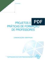 Projetos e Praticas Na Formação de Professores