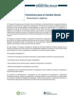 1. Programa Promotores Territoriales Para El Cambio Social