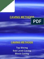 Caving Method