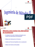 Calificacion de Factores