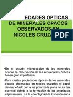 Tema 9 -Anisotropia, minerales opacos