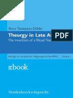 Ilinca Tanaseanu-Döbler, Theurgy in Late Antiquity