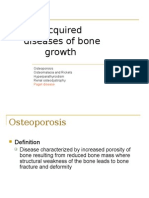 Acquired Diseases of Bone Growth