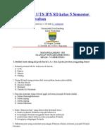 Contoh Soal UTS IPS SD kelas 5 Semester 2.doc