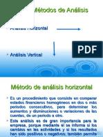 Analisis Horizontal y Vertical 1