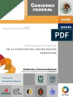 Gpc 1 Atencion Del Ratencion al prematuron Prematuro