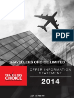 Travellers Choice Offer Information Statement 2014