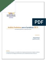 Análisis Preliminar Del Producto CR Para TI