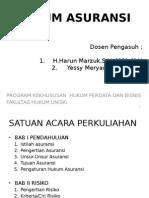 Slide Hukum Asuransi