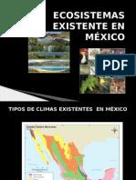 Ecosistemas Existente en México