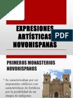 Expresiones artisticas novohispanas