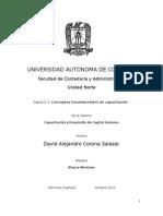 Capítulo 1 - Conceptos Fundamentales de Capacitación.