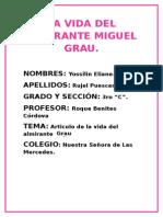 La Vida Del Almirante Miguel Grau