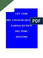Ley 15266 Creacion Del Cqfp