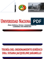 TEORIA DEL ORDENAMIENTO JUR++¼DICO