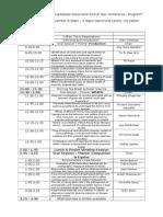 vespa conference preliminary program
