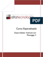 Desarrollador de Android Con Phonegap