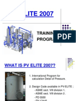 PV Elite Training