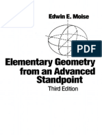 Elementary Geometry From an Advanced Standpoint, 3rd (1990), E.E. Moise
