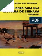 Correa (1996). Anotaciones Para Una Historia de Cienaga (Magdalena).