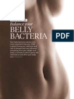 Special Report Balance Your Belly Bacteria