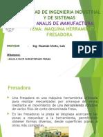 Maquina Herramienta - Fresadora