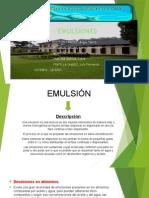 Emulsiones. Trabajo Encargado
