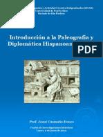 Paleografía y Diplomática Hispanoamericana
