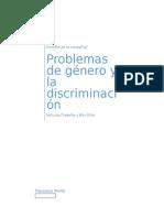 Problemas de Género y La Discriminación