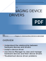 Managing Device Drivers