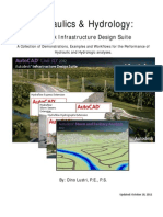 CI5180-V Dino Lustri P.E., P.S. Hydraulics and Hydrology Autodesk« Infrastructure Design Suite Tools in Your Toolbox