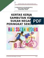 Kertas Kerja Hari Sukan Negara 2015