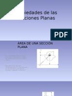 Secciones Planas