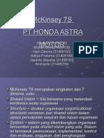 Model McKinsey-7S