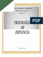 Trinagulos de Distancias.