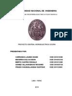Proyecto Central Hidroelectrica Ocoña