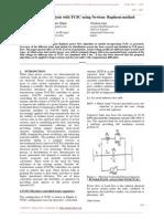 Power Flow Analysis With TCSC Using Newton- Raphson Method