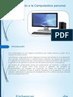 Introducción a La Computadora Personal1.1