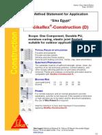 Sikaflex Construction D