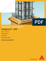 Sikagrout- 200