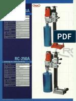 Rox Core Drill Rc-6a Rc-250a - Korea