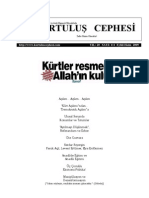 Kurtuluş Cephesi 111. Sayı, Eylül-Ekim 2009