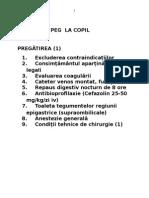 Protocol Peg La Copil-2