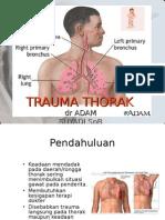 Trauma Thorak Kuliah Dr Adam