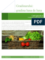GRADINA - Calendarul Gradinarului