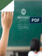 Brochure Corsi Istituto Giovanni Paolo II