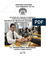 Tt Operaciones Bancarias Tambra